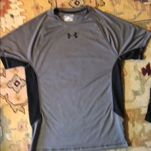 Mens Small gray Under Armour Dri-fit tee